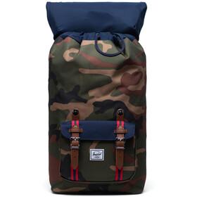 Herschel Little America Backpack woodland camo/peacoat/tan